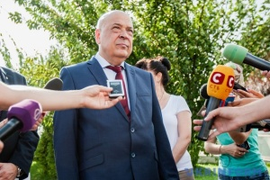 Moskal resigns as governor of Zakarpattia region