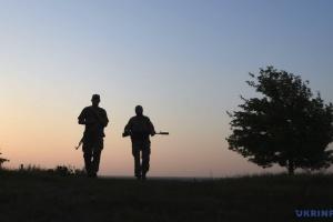 Ein Soldat in der Ostukraine gefallen