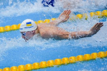 Natation : Andriy Govorov remporte le Championnat d'Europe (photo)