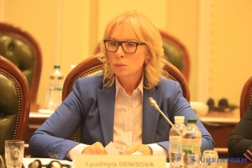 Denisova intends to travel to Greece to visit Ukrainians prisoners