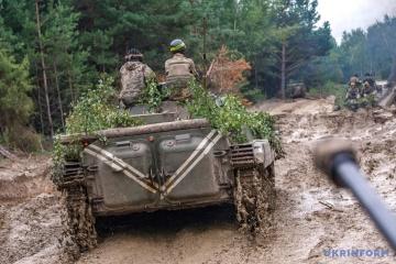 Donbass: Les formations armées illégales ont pilonné l'arc de Svitlodarsk avec des obus de mortiers