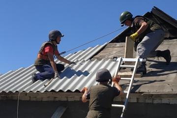 顿涅茨克州前线区域重建了660多所房屋