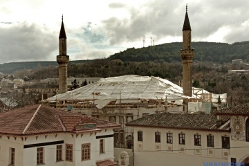 ウクライナ、保護目的にクリミア・ハン国時代のハンの宮殿のユネスコ世界遺産入りを進める