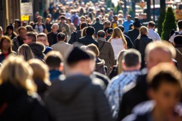 Bevölkerungszahl in der Ukraine um 233.200 geschrumpft