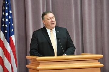 Pompeo: Russia acts against U.S. interests in Ukraine and Syria