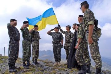 Das Land feiert Tag ukrainischer Friedensstifter
