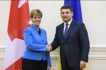 Le Canada a mis en œuvre plus de 60 projets pour des millions de dollars en Ukraine