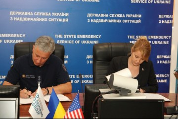 Ukraine's Emergency Service, Denmark sign declaration of intent on demining in eastern Ukraine