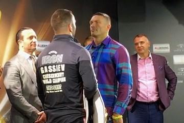 Corredores de apuestas hacen pronóstico para la pelea Usyk vs Gassiev