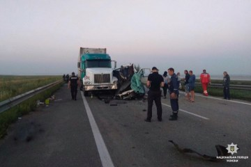 Horror-Unfall in Region Mykolaiw: Fünf Weißrussen gestorben und zwölf verletzt
