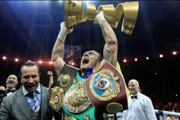 Boxe : Usyk bat Gassiev et devient champion du monde absolu poids lourds-légers (vidéo)