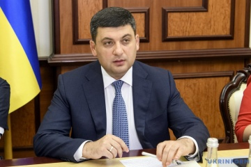 Groysman: More than 15 million Ukrainians already signed declarations with doctors