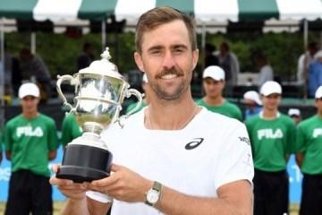 Теніс: Джонсон другий в сезоні після Федерера виборов титули на різних покриттях