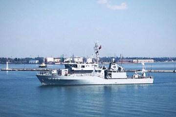 NATO ships arrive in Odesa