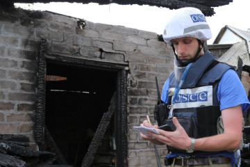OSCE records 55 explosions in Donbas – report