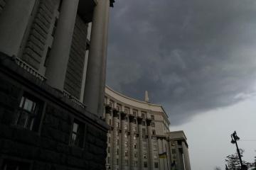 Varias calles se inundan en Kyiv a causa de la fuerte lluvia (Fotos, vídeos)