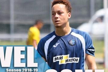 Le club de foot Donetsk « Olympique » a signé un contrat avec un footballeur français