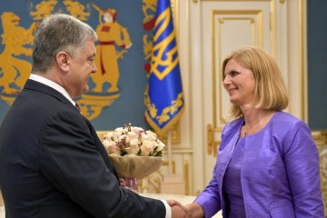 Poroshenko thanks Slovenia for support