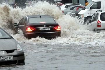 Aumentan los incidentes de desastres naturales en Ucrania
