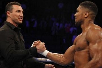 Wladimir Klitchko ayudará a Joshua a prepararse para la pelea con Povetkin