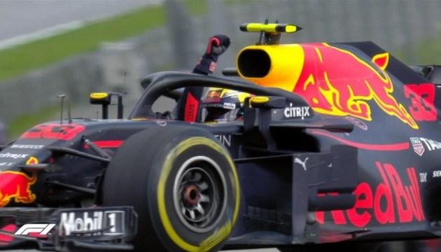 Формула-1: Ферстаппен победил на Гран-при Австрии, Феттель снова лидер