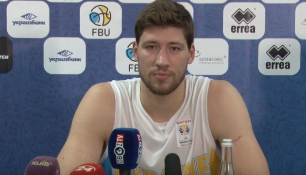 Капитан баскетбольной сборной Украины: Нам не удалось сбить латвийцев с ритма