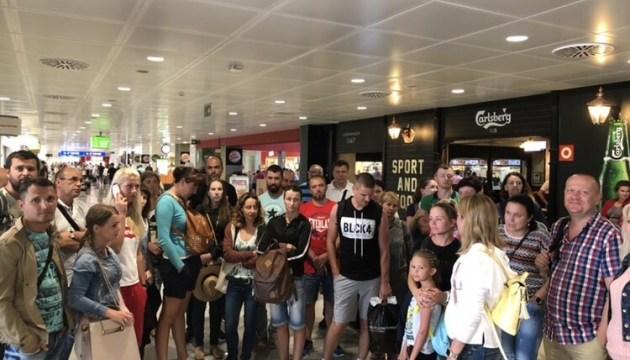 Туристи повідомляють, що не можуть вилетіти до України з Пальма-де-Майорка