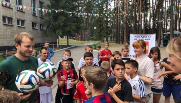 Экс-капитан «Динамо» Олег Гусев провел мастер-класс для детей школ-интернатов