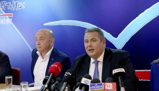 У Греції провладну коаліцію може розколоти питання про назву Македонії