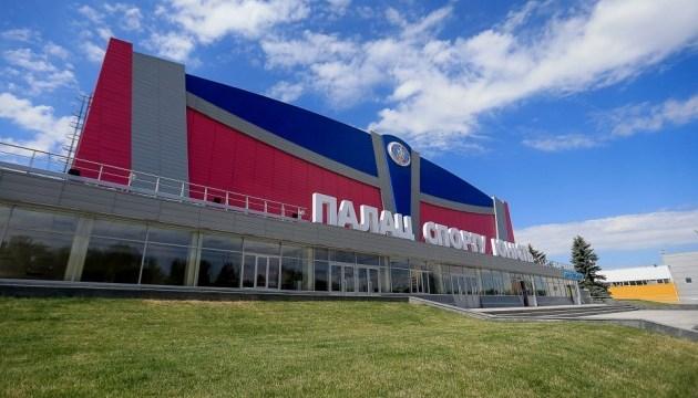 Запорізький Палац спорту готовий до змагань міжнародного рівня - ЄГФ