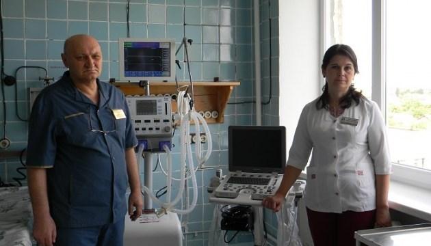 На Херсонщине детская больница получила новое оборудование для реанимации