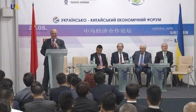 Ukrainisch-chinesisches Wirtschaftsforum in Kiew