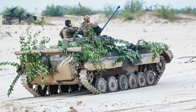 OFC: El enemigo realizó 40 ataques contra las posiciones del ejército ucraniano