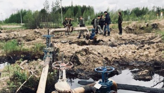 Greenpeace: головна причина нафторозливів у РФ - іржаві труби