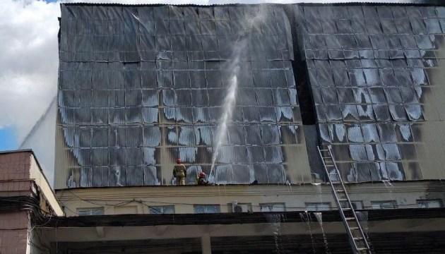 На столичном комбинате произошел крупный пожар