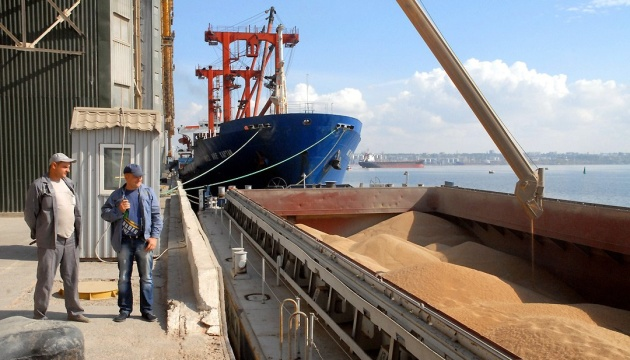 Grain exports from Ukraine in 2018 exceed 20 mln tonnes