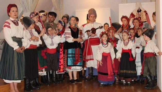 У Хорватії презентували українське народне вбрання