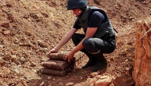 В курортной Затоке нашли более 20 снарядов времен войны