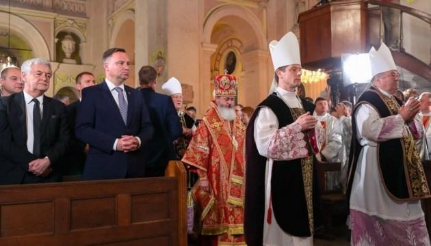 Дуда прибув до Луцька для вшанування пам'яті жертв Волинської трагедії