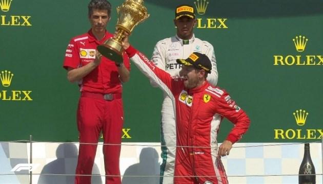 Формула-1: Феттель переміг на Гран-прі Великої Британії