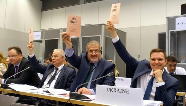 ОБСЄ деякою мірою стримує російську агресію – Чубаров