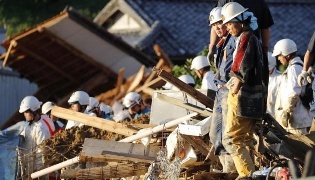 Від злив та повеней в Японії загинули понад 100 осіб