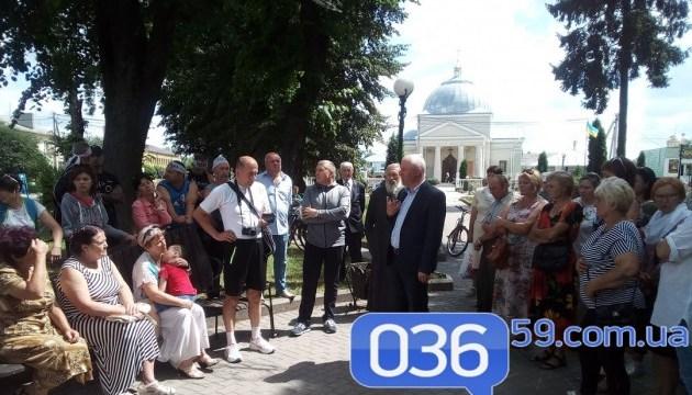 На Рівненщині триває голодування проти закриття гімназії
