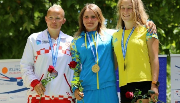 Веслування: каноїстки-марафонки Бабак і Гончарова виграли медалі Євро-2018 у Хорватії