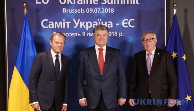 Порошенко прибыл на 20-й саммит Украина-ЕС
