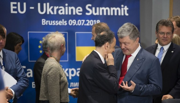 Joint statement following 20th EU-Ukraine Summit in Brussels on July 9, 2018