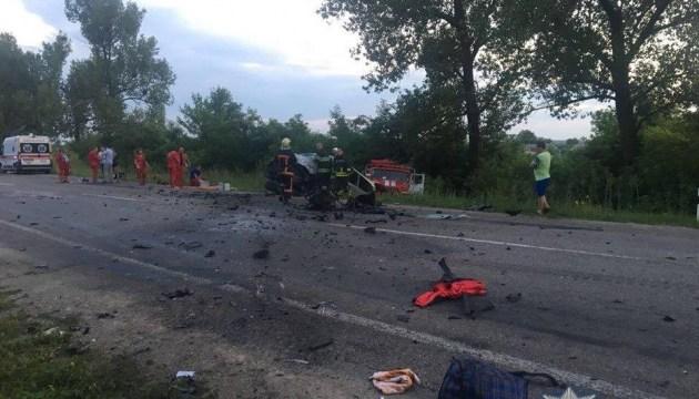 На Київщині зіткнулися два авто: один загиблий, п'ятеро травмованих