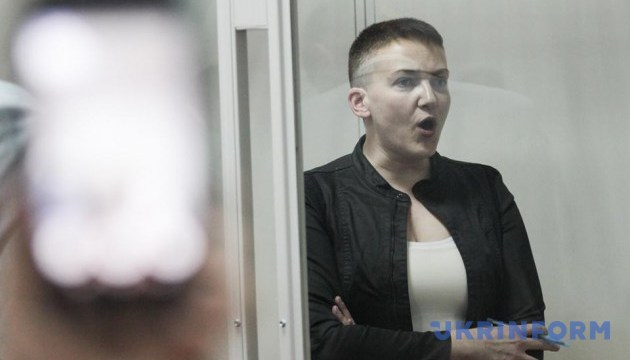 Kyiv Court of Appeal leaves MP Savchenko in custody until Sept 7
