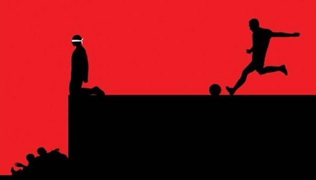 """В Брюсселе презентовали фильм о том, как РФ """"покупала"""" чемпионат мира по футболу"""