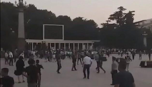 В Азербайджане во время разгона акции протеста убиты двое полицейских